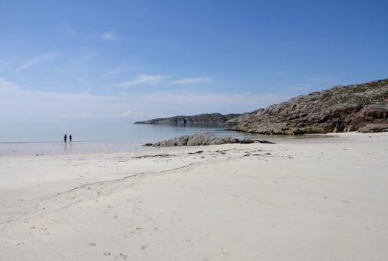 The beach at Cathair Dhubh Estate